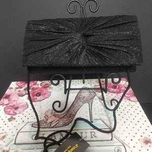 d''margeaux Black Clutch Evening Bag